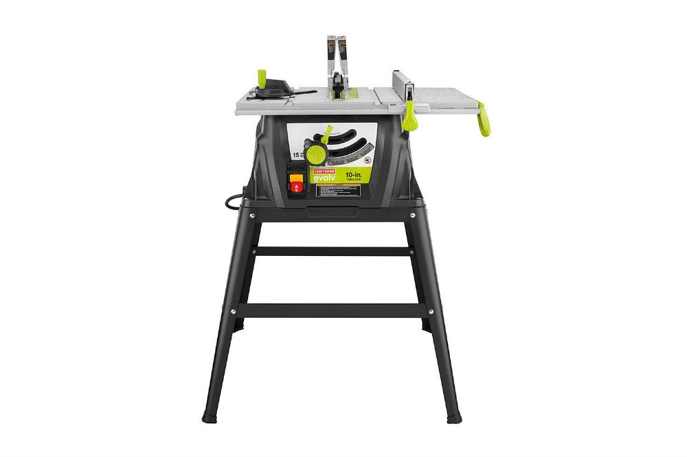 Craftsman Evolv 15 Amp 10 In Table Saw 28461 Review
