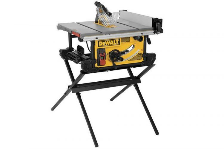 Dewalt DWE7490X Table Saw with Scissor Stand Review