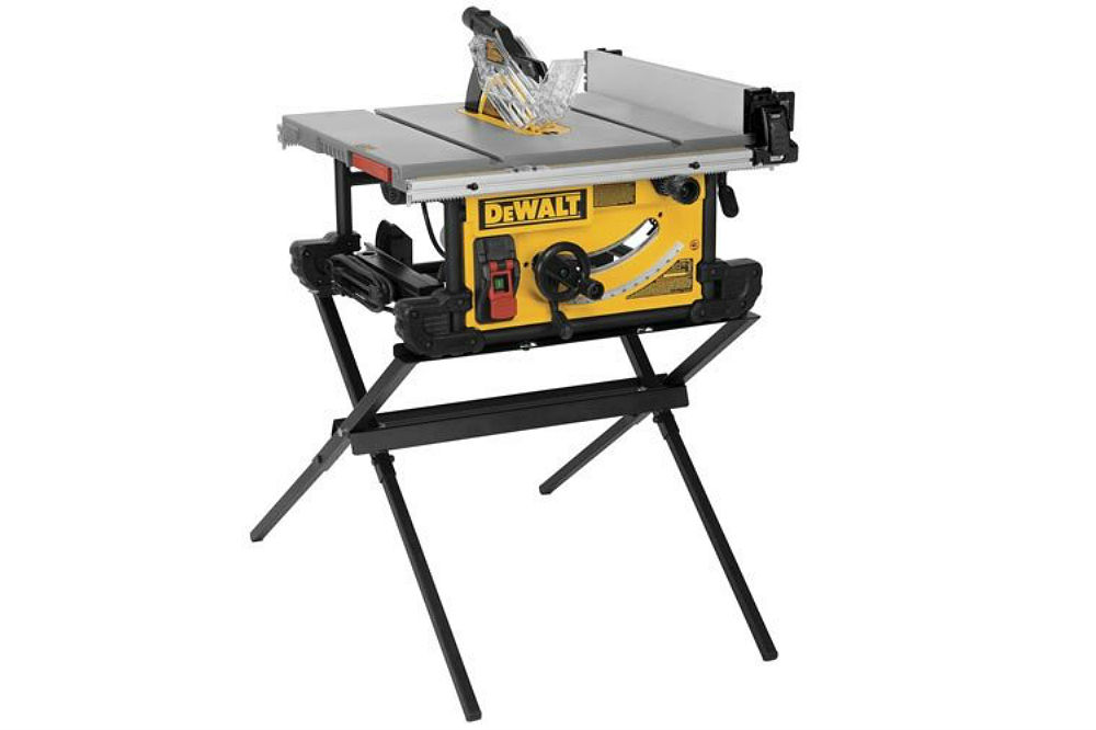 Dewalt Dwe7490x Table Saw With Scissor Stand Review Best Saw Shop