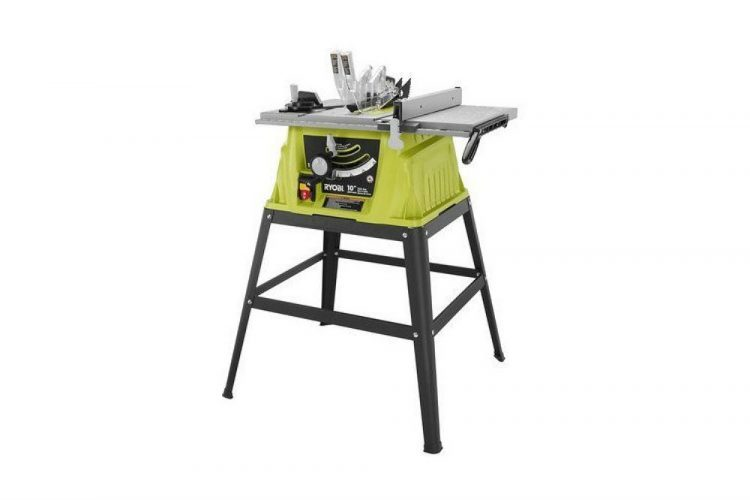 Ryobi ZRRTS10G Table Saw with Steel Stand Review